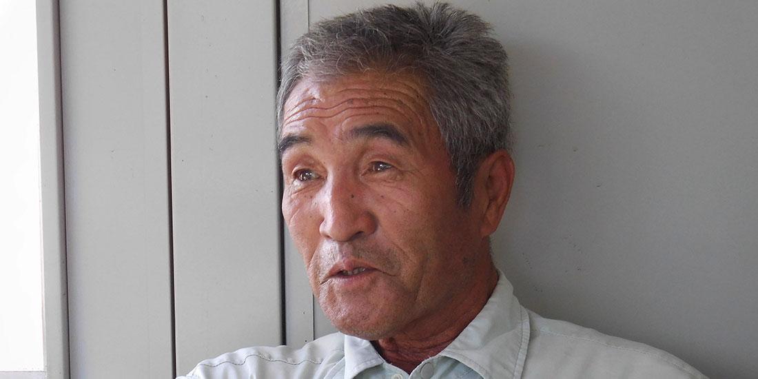 株式会社シモタ農芸 生産者 霜多増雄さん