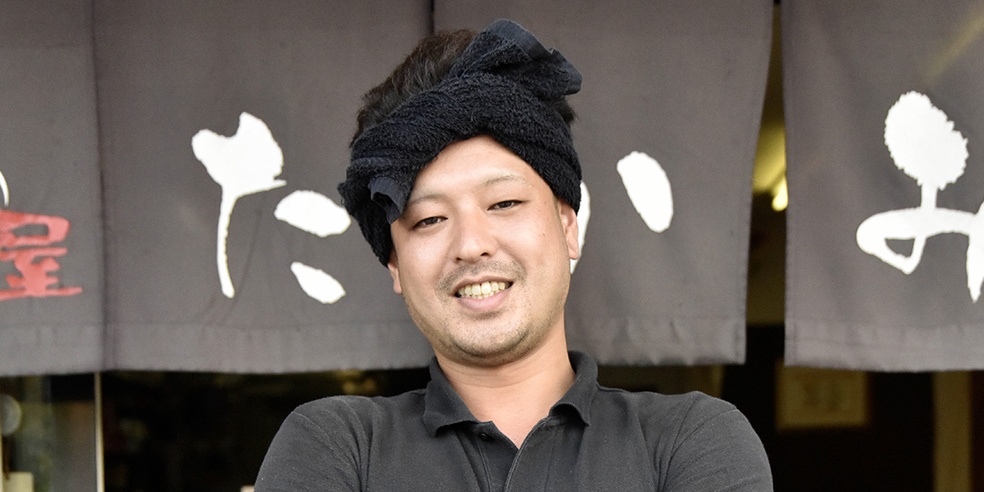 麺屋 たかみ 代 表 髙見啓太さん