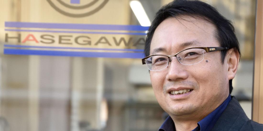 株式会社 長谷川商店 代表取締役 長谷川 紀之さん